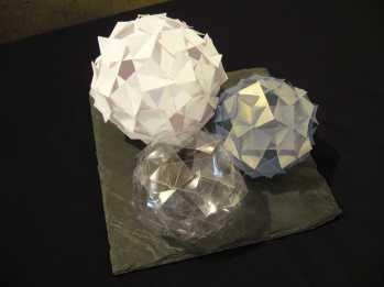 Sculptures papier