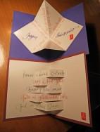 Cartes de vœux, d'anniversaire