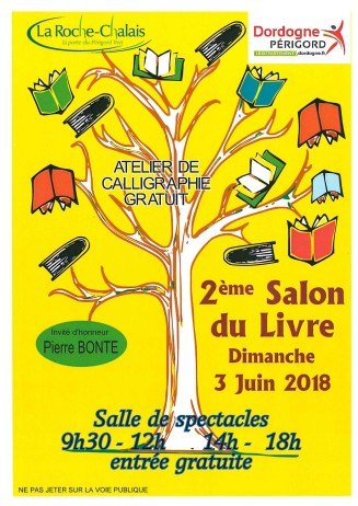 Salon Livre LaRocheChalais 2018 copie