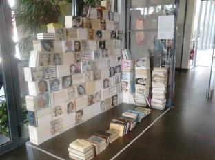 """""""Tronches de Livres"""" à la médiathèque de Gradignan sept-oct-2014"""